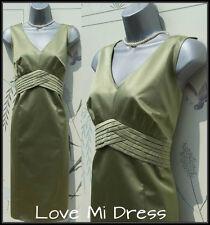 Principles - 50's Style Satin Pencil Wiggle Dress Sz 10 EU38