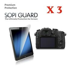 3 X HD Ultra Clear Screen Protector for Panasonic GH3