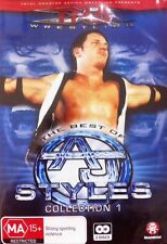 TNA Wrestling Best of AJ Styles Collection (DVD, 3-Disc Set) NEW/SEALED Region4