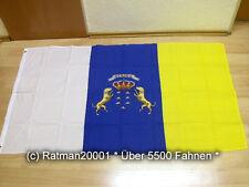 Fahnen Flagge Kanarische Inseln - 90 x 150 cm