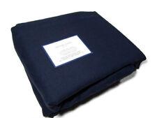 Williams Sonoma Home Navy Blue Signature Linen King Cal King Duvet Cover New