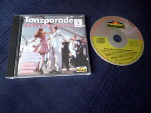 CD Tanzparade Strikten Tanzrythmus Bela Sanders Max Greger Kai Warner Karussell