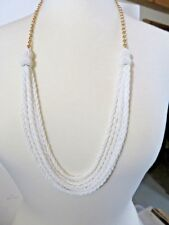 NEW TALBOTS TWISTED BEAD  NECKLACE 30-33""