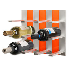 Top Wine Rack - Modular Wine Rack Wall Mounted (Orange)