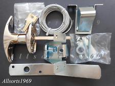New T handle tilt a door lock kit garage door lock complete kit Polished Chrome