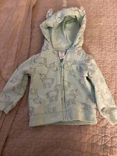 carters 12 month girl Unicorn Hoodie Sweatshirt