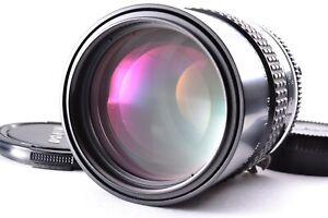 N Mint Nikon Nikkor Ai 135mm f/2.8 Telephoto Lens MF Prime From JAPAN SLR Camera
