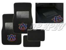 AU AUBURN UNIVERSITY TIGERS NCAA 4PCS CARPET FLOOR MATS FOR FORD CAR & SUV