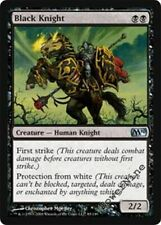 1 PLAYED FOIL Black Knight - Black m10 Magic 2010 Mtg Magic Uncommon 1x x1
