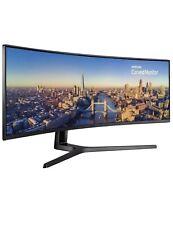 OPEN BOX - Samsung 49'' CJ890 Series Curved Ultra-Wide Monitor C49J890DKN