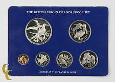 1978 British Virgin Islands Proof Sets, All Original 6 coins