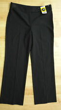 George Straight Leg Mid Rise Trousers for Women