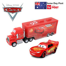 NO.95 Diecat  Pixar Cars 3 Lightning McQueen & Mack Superliner Truck Toys