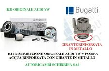 KIT DISTRIBUZIONE ORIGINALE VW +POMPA ACQUA AUDI A3 GOLF V PASSAT 1.9 TDI 105cv