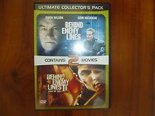 Original DVD Movies - Behind Enemy Lines I & II (2 movies)