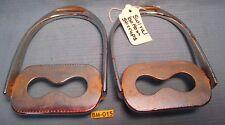 Rare Older Swivel Safety English Saddle Stirrups from Bob Maclin Estate