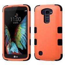Fundas y carcasas de plástico de color principal naranja para teléfonos móviles y PDAs