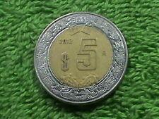 MEXICO 5 Pesos 2012