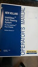 New Holland IntelliSteer Auto Steering System Operator's Manual  2008