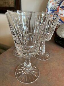 Waterford Crystal Kylemore Water Goblet Set of 3 (Signed)
