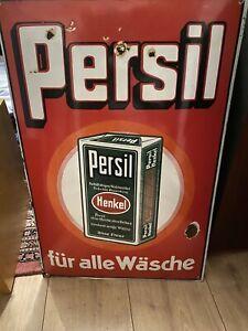 Emailschild Persil für alle Wäsche 60x40cm, rare