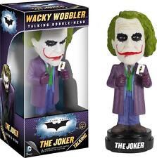 Funko Wacky Wobbler THE JOKER Talking Bobble Head Batman Dark Knight DC Comics