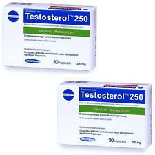 2x MEGABOL Testosterol 250 Anabolic Testosterone Booster Pills Gain Muscle Mass