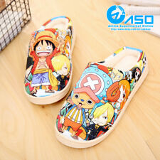 Anime ONE PIECE cosplay Winter Warm Soft Plush Antiskid Indoor Home Slippers