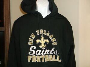 New Orleans Saints Hoodie Sweatshirt Men's Small nwt Free Ship