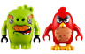 LEGO Angry Birds - Original - Foreman Pig & Red Minifigs - From Set 75826 - New