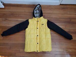 NIKE 6.0 Winter Jacket Youth Boys Yellow Size 18/20