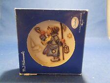Vintage Mi Hummel Goebel Miniature Plate Mini Teller #1079 Hear Ye, Hear Ye