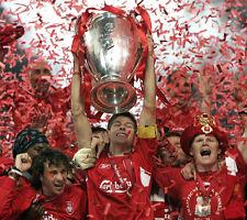 Steven Gerrard non firmate foto-f762-Liverpool CAPITANO