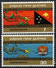 Papua New Guinea 1975 SG#294-5 Independence MNH Set #A83394