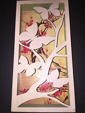 Demdaco The Nathan Murrell Collection 6 x 12 Ka Butterfly Shadow Box Plaque