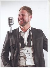 BRIAN Mc FADDEN WESTLIFE HAND SIGNED 12 X 8 INCH COLOUR PHOTOGRAPH.