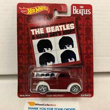 Dairy Delivery Supervan Beatles * Hot Wheels Pop Culture * HB51