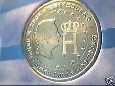 2 euro 2004 FDC Lussemburgo Henri Luxembourg Luxemburg Люксембург Luxemburgo