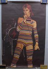 Affiche David Bowie - Ziggy - 1973 - 86 x 131 cm - Signée -