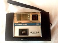 Vintage  Keystone  725EF Electronic  Flash  126 Film  Camera. Uses AA Batt.