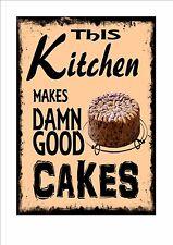 Cafe Sign Vintage Style Cafe Bistro Sign Mums Kitchen Sign Kitchen Sign Cup Cake