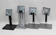4x Adjustable Spring Loaded Mounted Assorted Desktop Monitor Stands Job Lot