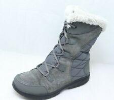 Columbia Ice Maiden II Women's Size 9.5 Waterproof Grey Snow Boots BL1581-051