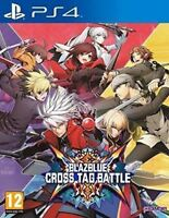 Blazblue Cross Tag Battle PS4 Brand New Sealed Sony PlayStation 4 Video Game