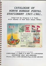 NORTH KOREA: CATALOGUE OF NORTH KOREAN POSTAL STATIONERY 1947-1961 Limited Ed