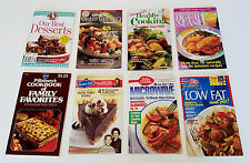 Lot Cookbooks Booklet Betty Crocker Pillsbury Better Your Home Magazine Recipes