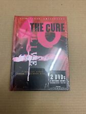 THE CURE - 40 LIVE CUREATION 25+ ANNIVERSARY BOOK EDITION- 2DVD (SEALED)