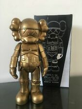 Arrival Kaws Star War Stormtrooper 25cm Action Figure With Original Box Toy Gold