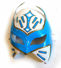 WWE WWF lucha libre sin cara blanco niños intrépidos Cosplay Máscara de Cabeza Completa Rara