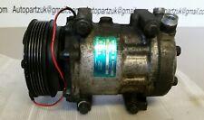 Mercedes w124 coupe e220 AC aircon compressor pump oem Sanden SD7H15 R134A #ob6d